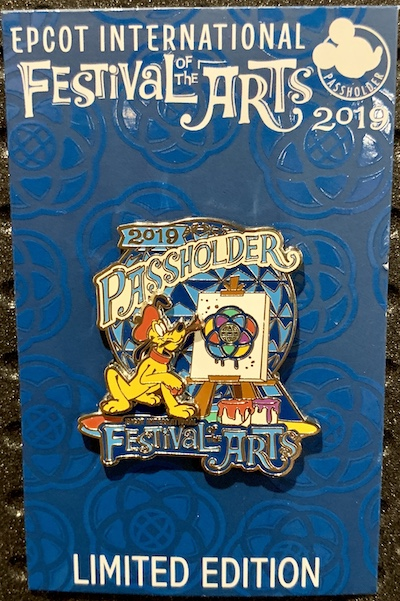 Annual Passholder Exclusive Festival of Arts 2019 Pin