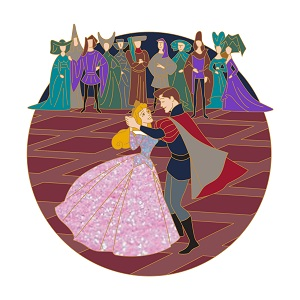 Aurora Sleeping Beauty 60th Disney Pin