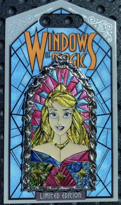 Aurora Windows of Magic Pin