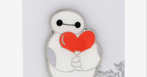 Baymax Heart Hug BoxLunch Disney Pin
