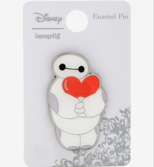 Baymax Heart Hug BoxLunch Disney Pin