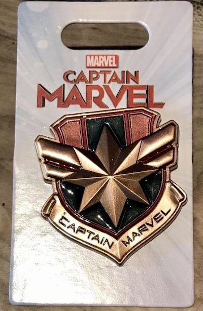 Captain Marvel Disney Pin