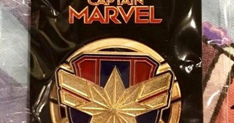 Captain Marvel - Hot Topic Disney Pin