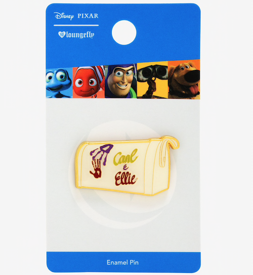 Carl & Ellie Mailbox BoxLunch Disney Pin