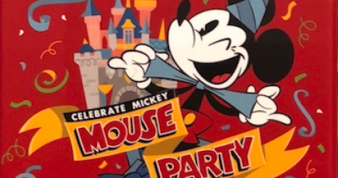 Celebrate Mickey Mouse Party Pins