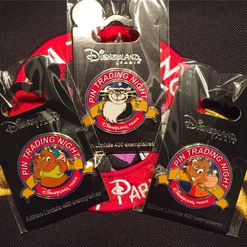 Cinderella Disneyland Paris Pin Trading Night Pins