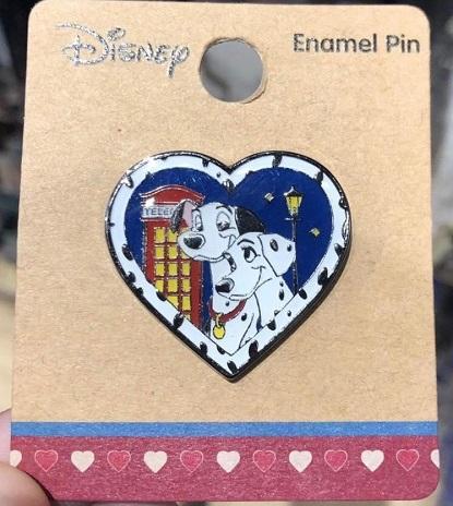 Dalmations Heart - BoxLunch Disney Pin