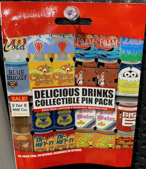 Delicious Drinks Collectible Pin Pack