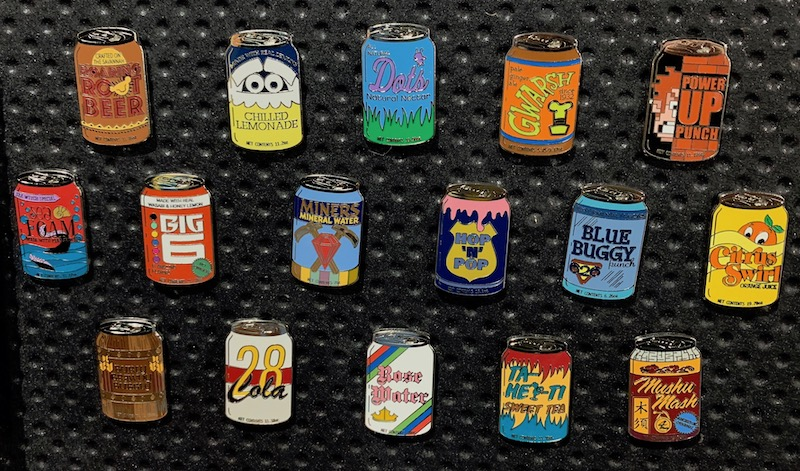 Delicious Drinks Disney Pins