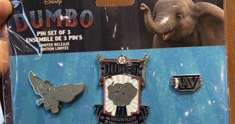 Disney Dumbo Live Action Pin Set