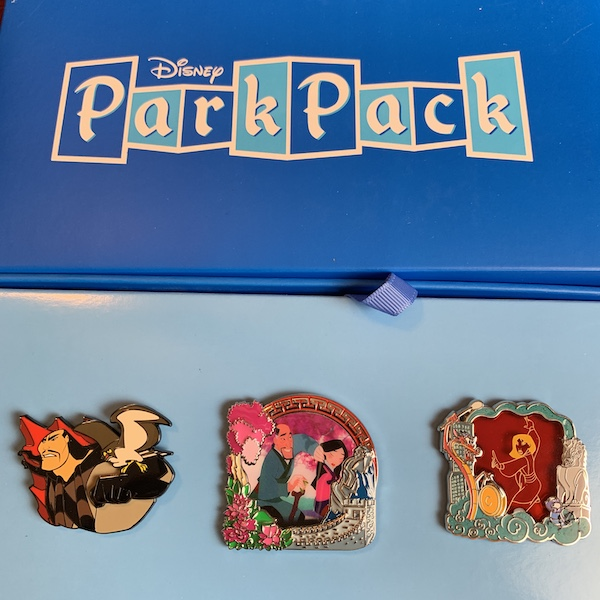 Disney Park Pack Pin Edition 3.0 – December 2018