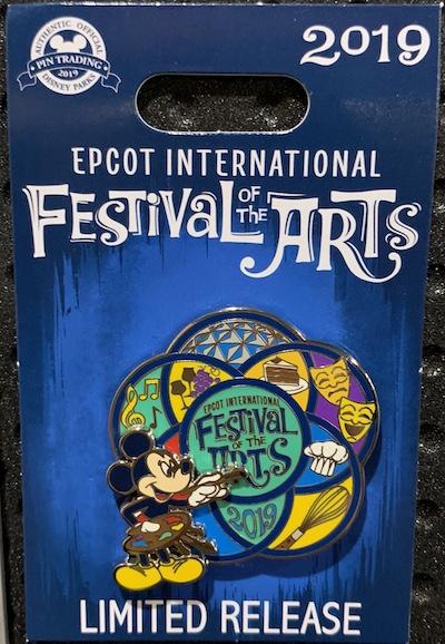Festival of Arts 2019 Logo Pin