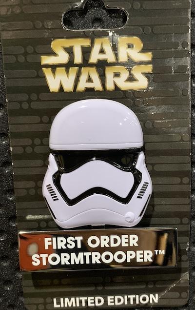 First Order Stormtrooper Helmet Disney Pin