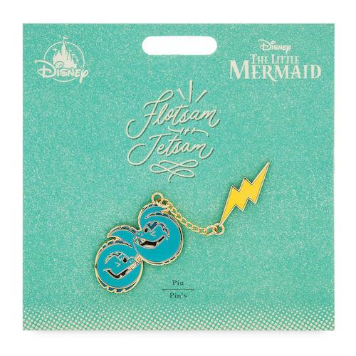 Flotsam and Jetsam Disney Duos Pin Set