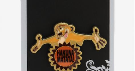 Hakuna Matata Timon Loungefly Disney Pin