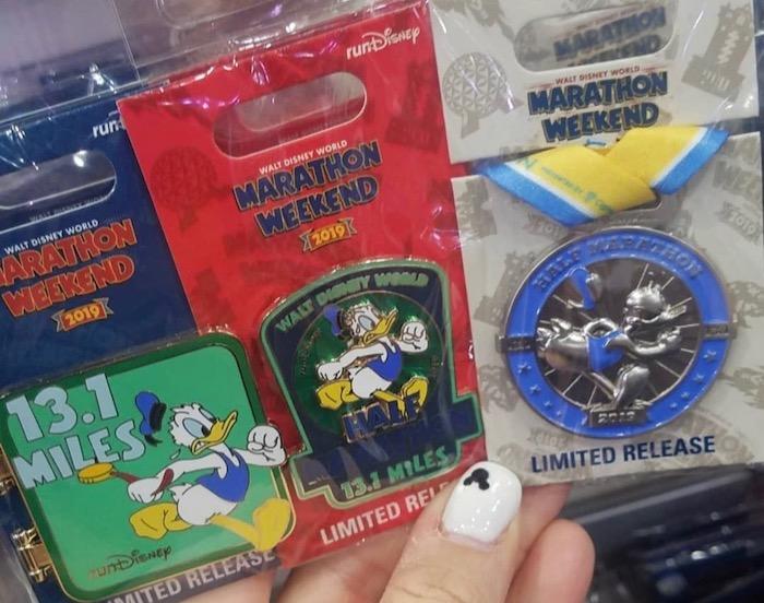 Half Marathon Disney Pins - WDW Marathon 2019