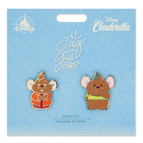 Jaq and Gus Disney Duos Pin Set