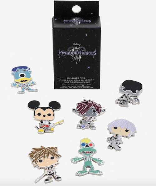 Kingdom Hearts 3 Funko Pop! Blind Box Disney Pins
