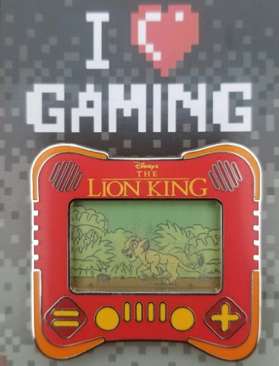 Lion King I Heart Gaming Disney Pin