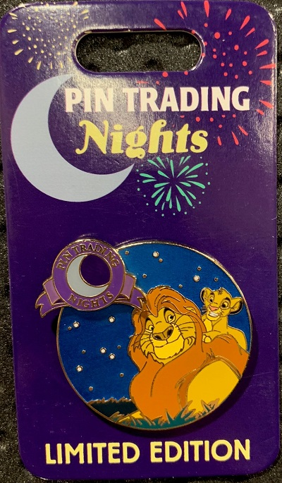 Lion King Pin Trading Nights February 2019