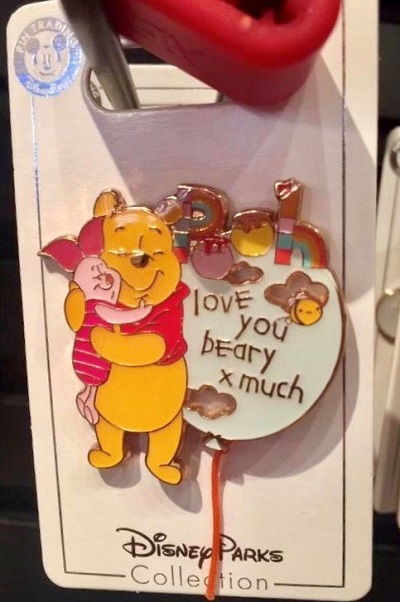 Love You Beary Much Shanghai Disney Pin