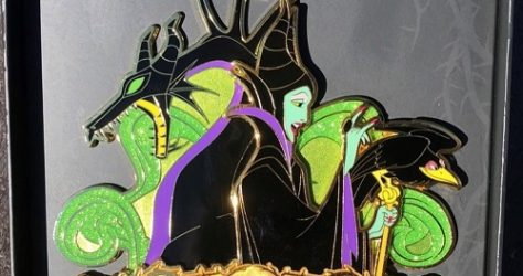 Maleficent Sleeping Beauty 60th Anniversary WDI Jumbo Pin