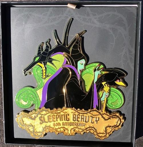 Maleficent Sleeping Beauty 60th Anniversary WDI Jumbo Pin