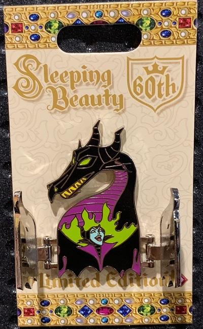 Maleficent Sleeping Beauty 60th Disney Pin