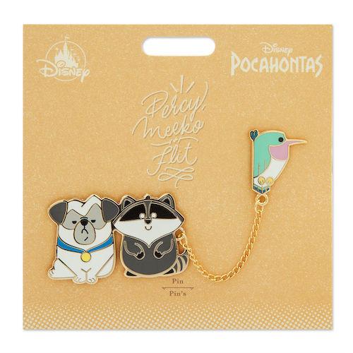 Meeko, Flit and Percy Disney Duos Pin Set