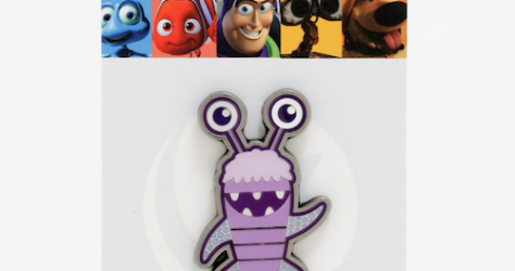 Monsters Inc Boo Loungefly Disney Pin