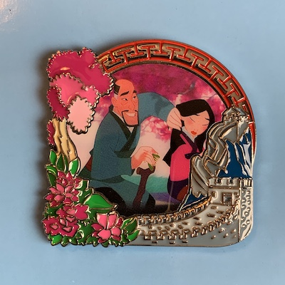 Mulan Park Pack Pin