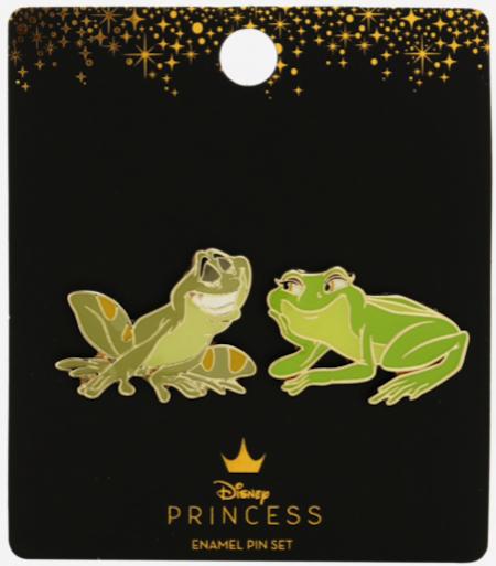 Naveen & Tiana BoxLunch Disney Pin Set