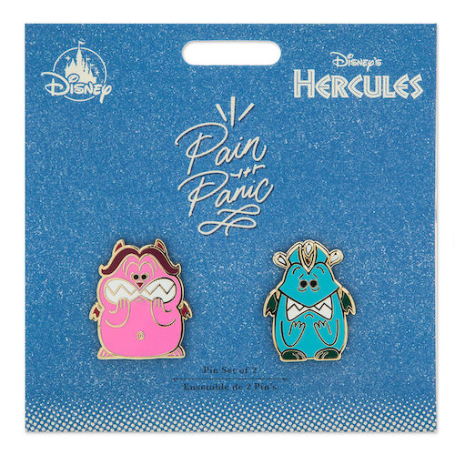 Pain and Panic Disney Duos Pin Set