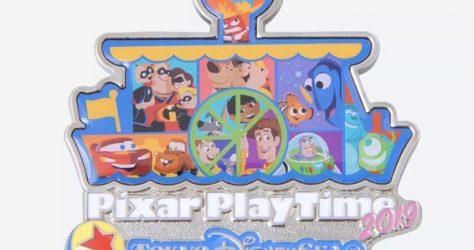 Pixar Play Time 2019 Disney Pin