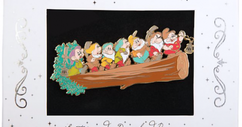Seven Dwarfs Limited Edition Jumbo Pin - Disney Store UK