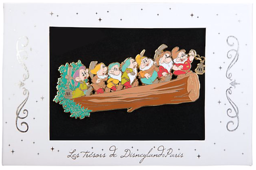Seven Dwarfs Limited Edition Jumbo Pin - Disney Store UK