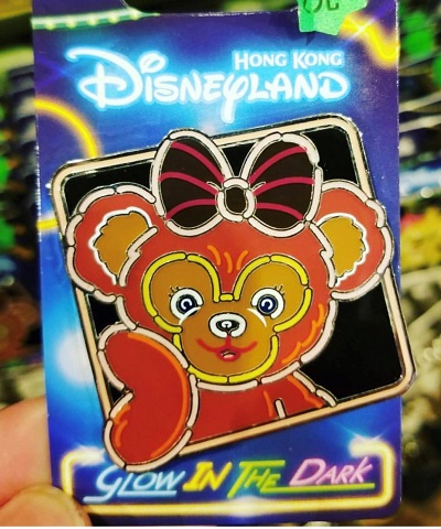 Shellie May Glow in the Dark HKDL Pin