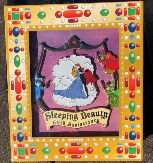 Sleeping Beauty 60th Anniversary WDI Jumbo Spinner Pin