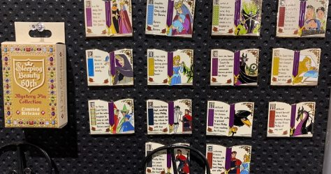 Sleeping Beauty 60th Mystery Pin Collection