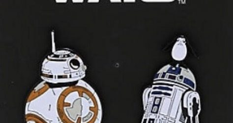 Star Wars Droids - Hot Topic Disney Pin