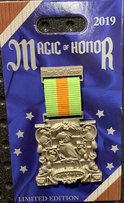 The Enchanted Tiki Room Magic of Honor Pin