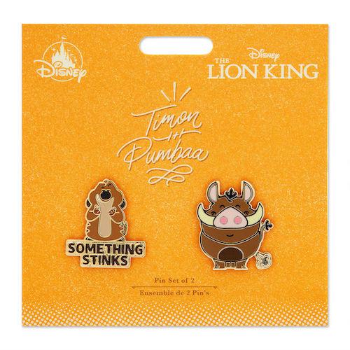 Timon and Pumbaa Disney Duos Pin Set