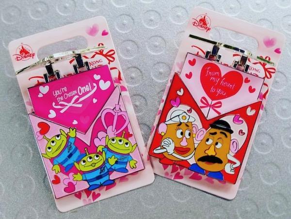 Valentine Love Letter HKDL Pins