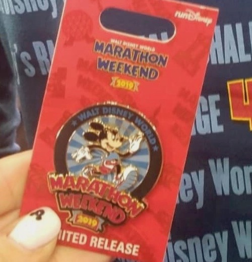 Walt Disney World Marathon Weekend 2019 Pin