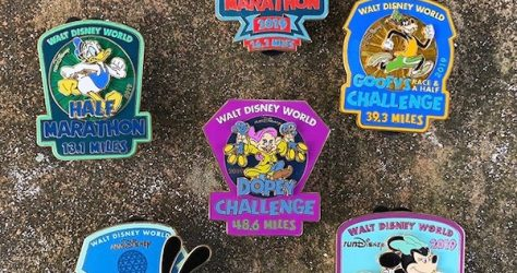 Walt Disney World Marathon Weekend 2019 Pins