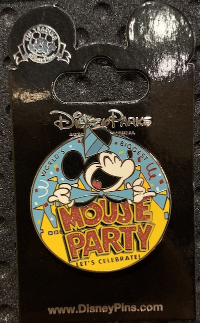 World's Biggest Mouse Party Disney Pin