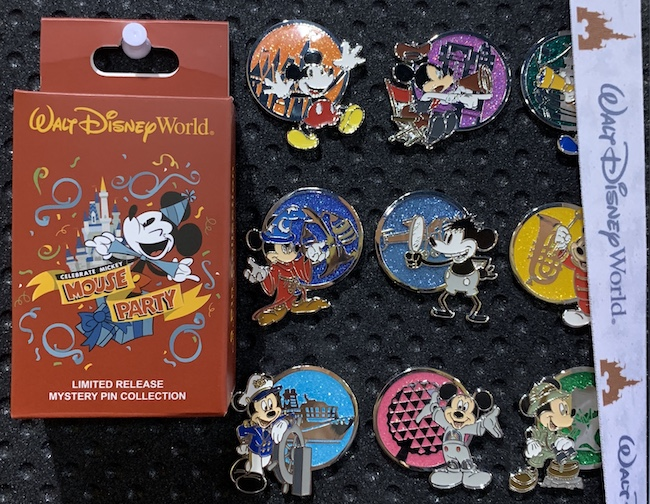 World's Biggest Mouse Party Walt Disney World Mystery Pin Collection