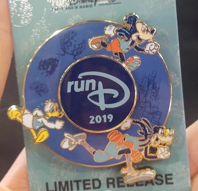 runDisney 2019 Pin