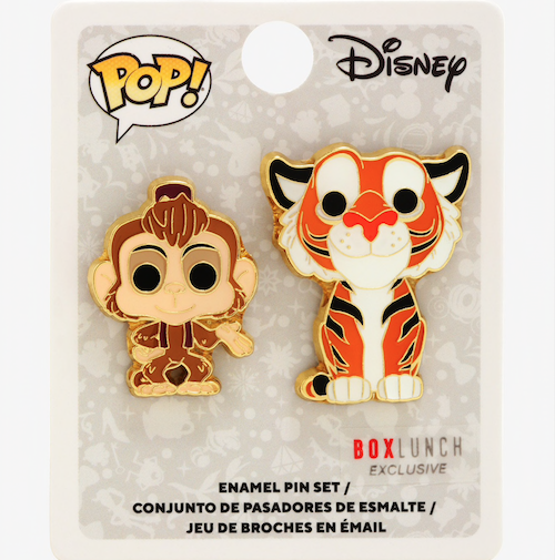 Abu & Raja Funko Pop! Disney BoxLunch Pin Set