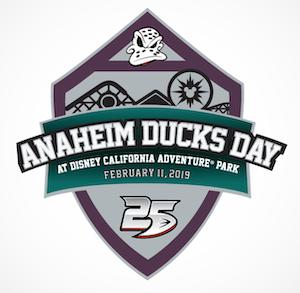 Anaheim Ducks Day 2019 Disney Pin